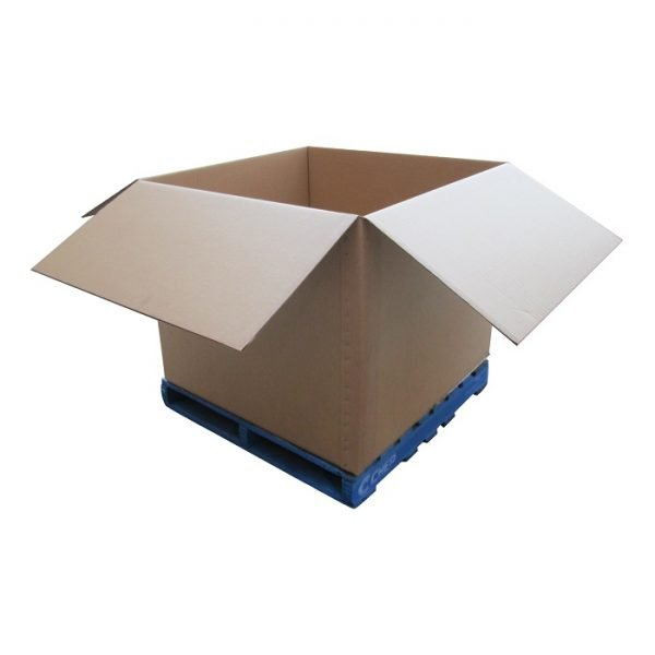 New-Cardboard-Boxes - 1140x1140x950mm-Open-Box-on-pallet
