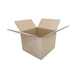 New-Cardboard-Boxes - 230x230x180mm-Open-Box