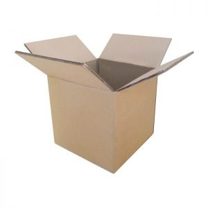 New-Cardboard-Boxes - 250x250x230mm-Open-Box