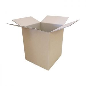 New-Cardboard-Boxes - 255x255x305mm-Open-Box