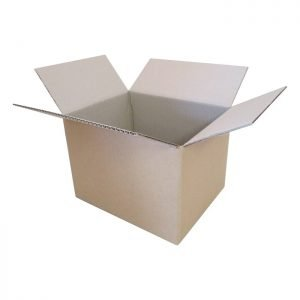 New-Cardboard-Boxes - 285x230x200mm-Open-Box