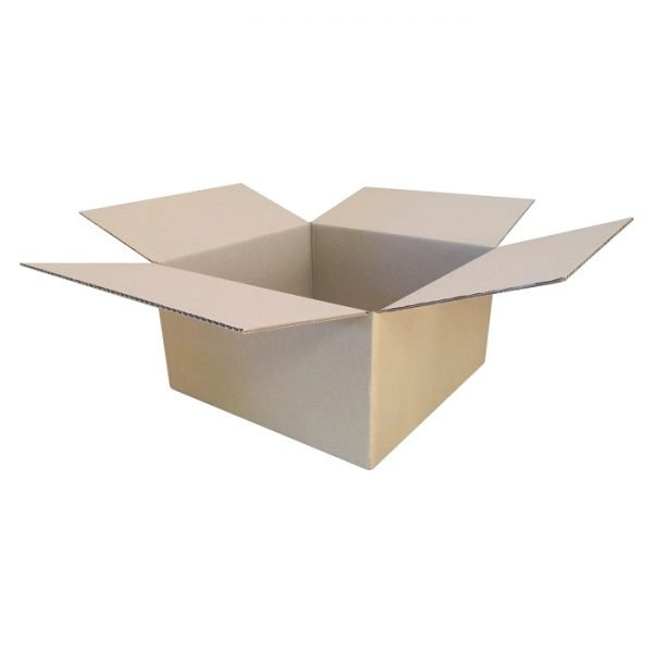 New-Cardboard-Boxes - 390x390x205mm-Open-Box