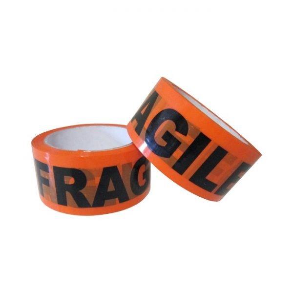 Printed-Tape-Fragile-Budget-Orange - Tape-Fragile-Acyrlic-48mm-Orange