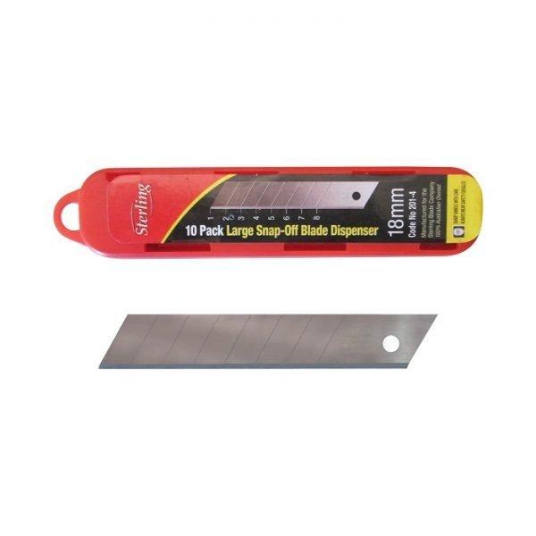 Knife-Blades-Regular-18mm - Knife-Blades-Sterling
